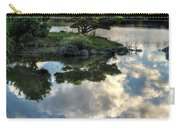 007 Delaware Park Japanese Garden Mirror Lake Series Carry-all Pouch
