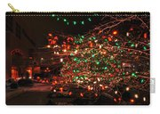 008 Christmas Light Show At Roswell Series Carry-all Pouch