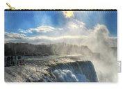008 Niagara Falls Winter Wonderland Series Carry-all Pouch
