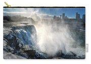 009 Niagara Falls Winter Wonderland Series Carry-all Pouch