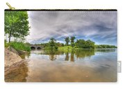 01 Reflecting At Hoyt Lake Series Carry-all Pouch