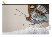 01 Southern White Admiral Butterfly Close Up Carry-all Pouch