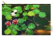 0148-lily -   Oil Stain Sl Carry-all Pouch