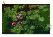 0151-lily - Chalk 1 Sl Carry-all Pouch