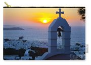 0209 Mykonos Sunset Carry-all Pouch