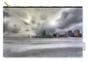 0242 Wintry Chicago Carry-all Pouch