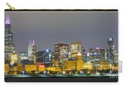 0247 Chicago Skyline Panoramic Carry-all Pouch