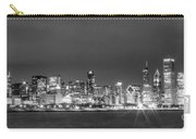 0248 Chicago Skyline Panoramic Carry-all Pouch