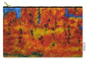 032 Abstract Landscape Carry-all Pouch