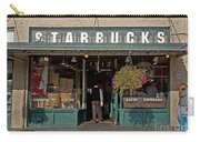 0370 First Starbucks Carry-all Pouch