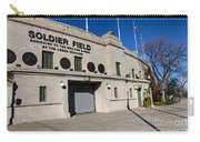 0417 Soldier Field Chicago Carry-all Pouch by Steve Sturgill