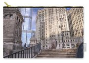 0499 Trump Tower And Wrigley Building Chicago Carry-all Pouch