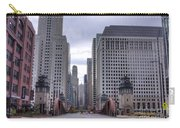 0500 Lasalle Street Bridge Chicago Carry-all Pouch
