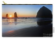 0519 Cannon Beach Sunset 3 Carry-all Pouch