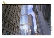 0527 Trump Tower From Wrigley Building Courtyard Chicago Carry-all Pouch