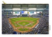 0546 Nlds Miller Park Milwaukee Carry-all Pouch by Steve Sturgill
