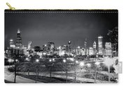 0647 Chicago Black And White Carry-all Pouch