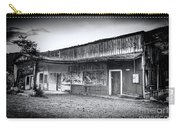 0706 Jerome Ghost Town Black And White Carry-all Pouch