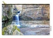 0940 Cascade Falls - Matthiessen State Park Carry-all Pouch