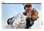 Closeup Nurse And Sailor Kissing Statue Unconditional Surrender Carry-all Pouch