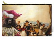 Irish Water Spaniel Art Canvas Print Carry-all Pouch