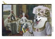 Japanese Spitz Art Canvas Print Carry-all Pouch