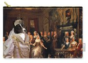 Karelian Bear Dog Art Canvas Print Carry-all Pouch
