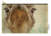 Ostrich Closeup Carry-all Pouch