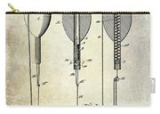 1902 Self Strike Fish Float Patent Carry-all Pouch