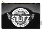 1925 Stutz Series 695h Speedway Six Torpedo Tail Speedster Emblem Carry-all Pouch