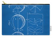 1929 Basketball Patent Artwork - Blueprint Carry-all Pouch