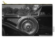 1929 Duesenberg Model J Covertible Coupe By Murphy Carry-all Pouch