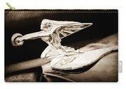 1935 Packard Hood Ornament - Goddess Of Speed Carry-all Pouch