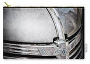1938 Chevrolet Hood Ornament - Emblem Carry-all Pouch