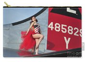 1940s Style Pin-up Girl Standing Carry-all Pouch