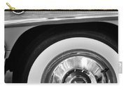 1951 Mercury Montclair Convertible Wheel Emblem Carry-all Pouch
