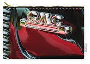 1952 Gmc Suburban Emblem Carry-all Pouch