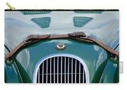 1952 Jaguar Xk 120 John May Speciale Grille Emblem Carry-all Pouch