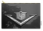 1953 Desoto Firedome Convertible Emblem Carry-all Pouch