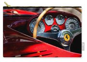 1954 Ferrari 500 Mondial Spyder Steering Wheel Emblem Carry-all Pouch