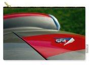1955 Fiat 8v Zagato Hood Emblem Carry-all Pouch