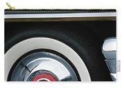 1955 Mercury Montclair Convertible Wheel Emblem Carry-all Pouch