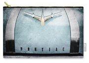 1955 Pontiac Safari Hood Ornament - Emblem Carry-all Pouch