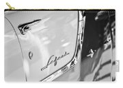 1955 Pontiac Safari Station Wagon Emblem Carry-all Pouch