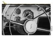 1955 Studebaker President Steering Wheel Emblem Carry-all Pouch by Jill Reger