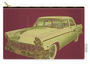 1956 Ford Custom Line Antique Car Pop Art Carry-all Pouch