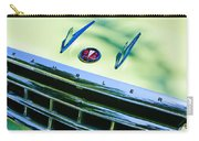 1956 Hudson Rambler Station Wagon Grille Emblem - Hood Ornament Carry-all Pouch