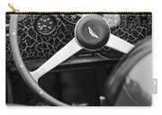 1957 Aston Martin Dbr2 Steering Wheel Carry-all Pouch by Jill Reger