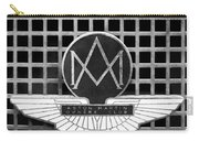 1957 Aston Martin Owner's Club Emblem Carry-all Pouch by Jill Reger