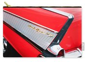 1957 Chevrolet Belair Convertible Taillight Emblem Carry-all Pouch